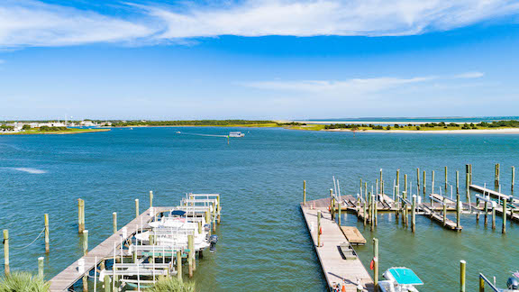 Olde Towne Yacht Club - Unit 2018 balcony view - Taylors creek